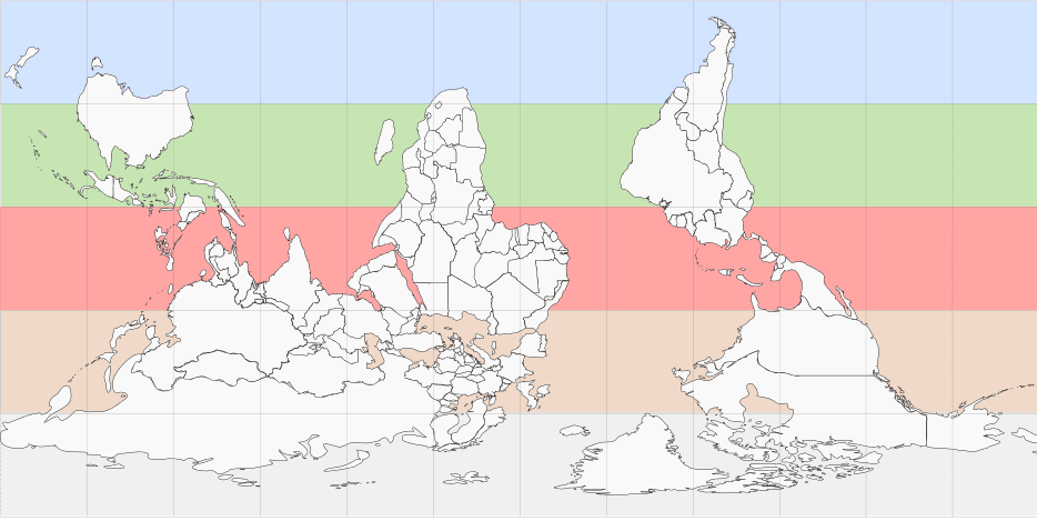 Wu Xing World Map